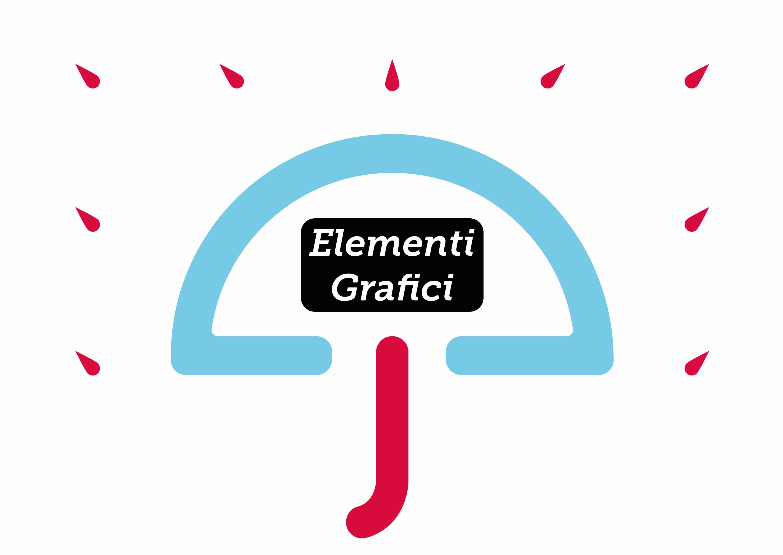Elementi grafici ombrello