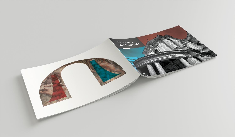 Mockup copertina retro Brochure bramante