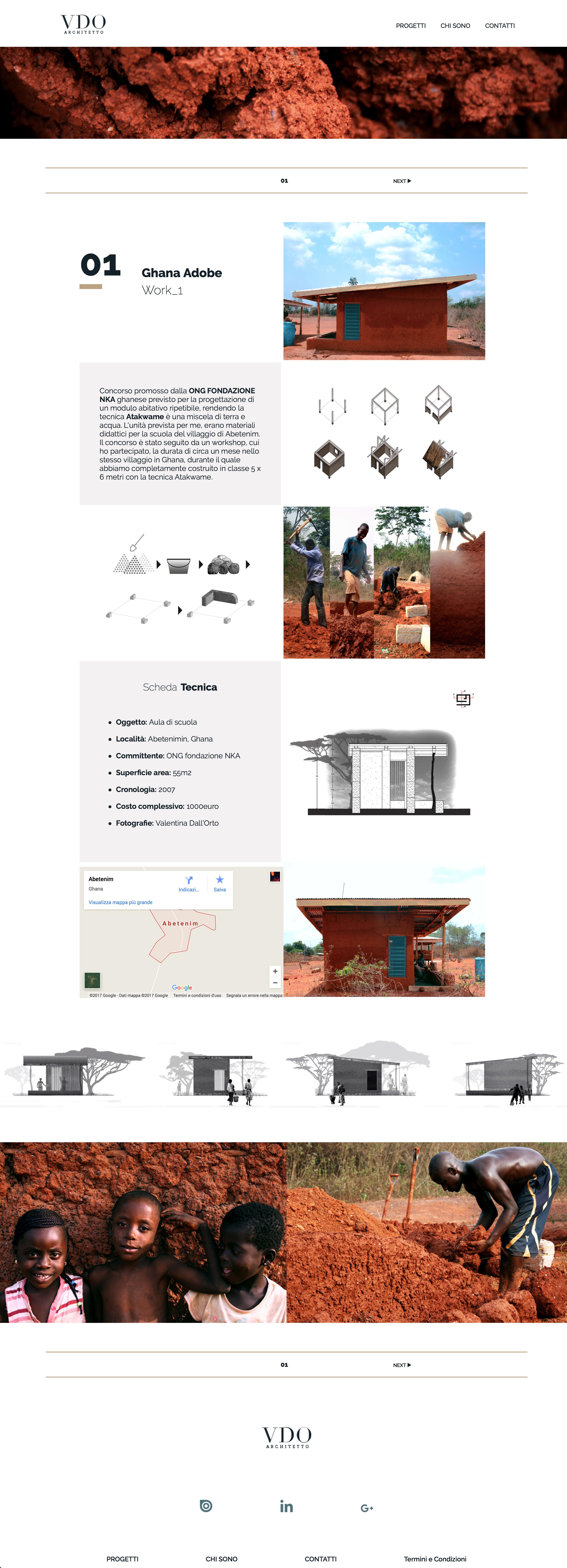 Progetto Ghana Adobe